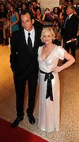 Amy Poehler and Will Arnett arrives for the White House Correspondents Dinner in Washington, DC