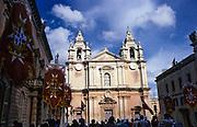 Cathedral church of Saint Paul, Mdina, Malta 1998