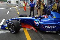 22.11.2001 Paris, Frankreich,<br />Das Formel-1-Team von Ex-Weltmeister Alain Prost (Archivfoto)  steht vor dem Bankrott.  © Jerg/Digitalsport