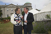 Lord March and Steve Ridgway, Cartier Style et Luxe champagne reception and lunch at the  the Goodwood festival of Speed. 9 July 2006. -DO NOT ARCHIVE-© Copyright Photograph by Dafydd Jones 66 Stockwell Park Rd. London SW9 0DA Tel 020 7733 0108 www.dafjones.com