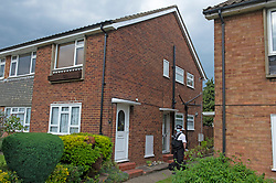 © Licensed to London News Pictures 06/06/2021. <br /> Bexleyheath, UK. A man has been arrested on suspicion of murder after the body of an 89 year old woman was found dead at a property in Bexleyheath, London yesterday, police are still on scene. Photo credit:Grant Falvey/LNP
