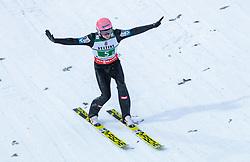 21.01.2018, Heini Klopfer Skiflugschanze, Oberstdorf, GER, FIS Skiflug Weltmeisterschaft, Teambewerb, im Bild Manuel Poppinger (AUT) // Manuel Poppinger of Austria during Team competition of the FIS Ski Flying World Championships at the Heini-Klopfer Skiflying Hill in Oberstdorf, Germany on 2018/01/21. EXPA Pictures © 2018, PhotoCredit: EXPA/ JFK