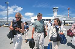 Dana & J. Nichols & Host At Haneda Airport