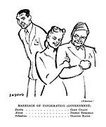 (Notorious!) Marriage of Information (Government). Devlin ............... Cary Grant. Alicia .............. Ingrid Bergman. Sebastian .............. Claude Rains.