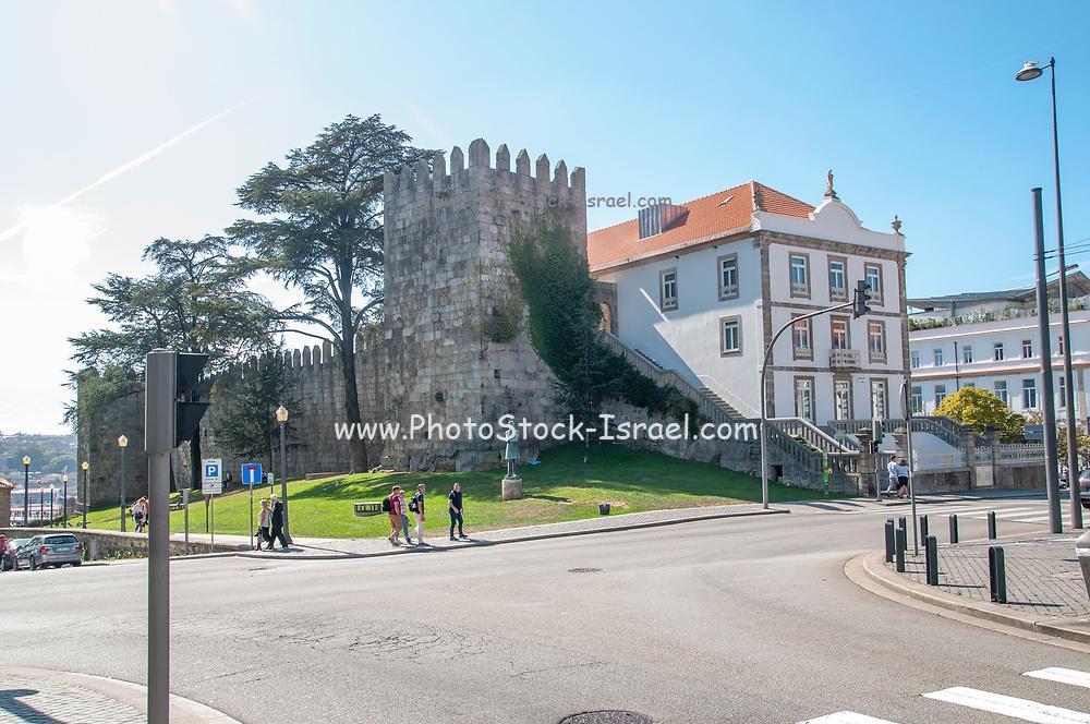 Walls of D. Fernando/Fernandina Wall is a medieval castle located in Porto, Portugal