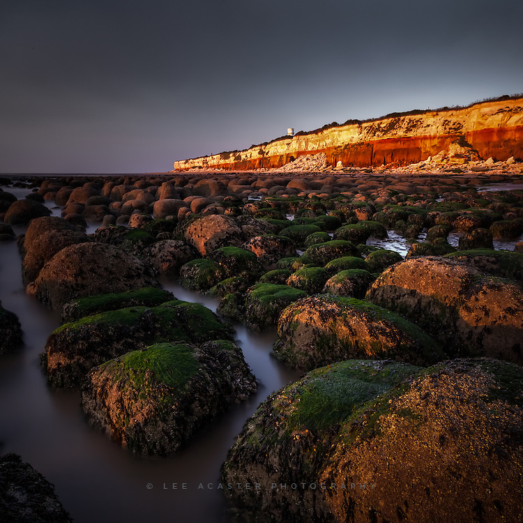 Hunstanton again, a bit earlier on while the tide was still around some of the rock formations