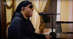 Capture - Stevie Wonder seen performing live on a smartphone as One World Together At Home is streaming live on April 19, 2020. One World Together At Home is a campaign rallying funds for the COVID-19 Solidarity Response Fund for the World Health Organization. The WHO's mission for COVID-19 is to prevent, detect, and respond to the pandemic. Photo via ABACAPRESS.COM