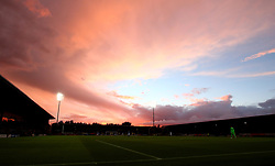 The sunsets over The Pirelli Stadium as Burton Albion take on Birmingham City in the Sky Bet Championship - Mandatory by-line: Robbie Stephenson/JMP - 18/08/2017 - FOOTBALL - Pirelli Stadium - Burton upon Trent, England - Burton Albion v Birmingham City - Sky Bet Championship