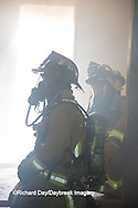 63818-02414 Firefighters at structure fire, Effingham Co., IL