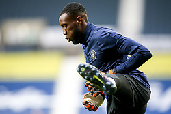Melvin Minter of Harrogate Town - Mandatory by-line: Robbie Stephenson/JMP - 16/09/2020 - FOOTBALL - The Hawthorns - West Bromwich, England - West Bromwich Albion v Harrogate Town - Carabao Cup