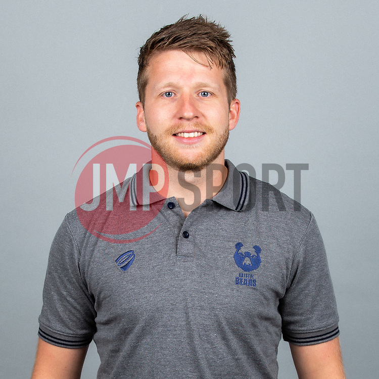David Howes - Robbie Stephenson/JMP - 01/08/2019 - RUGBY - Clifton Rugby Club - Bristol, England - Bristol Bears Headshots 2019/20