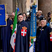 La Guardia d'Onore alle Tombe dei Re d'Italia