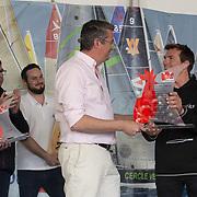Yannick MOREAU / Maire de la Ville des Sables d'olonne et MACAIRE Xavier /  GROUPE SNEF