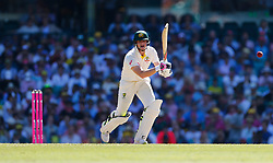 Australia's Steve Smith in action during day two of the Ashes Test match at Sydney Cricket Ground.