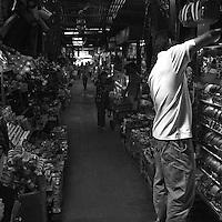 Inside the Russian Market in Phnom Penh, Cambodia