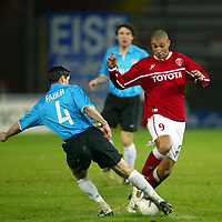 Perugia 26/2/2004 Uefa Cup Third round 1st leg <br />