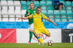 Jan Repas of NK Domzale during 2nd leg match of 1st Round Qualifications for European League between FC Flora and NK Domzale, on July 7, 2017 on Le Coq Arena, Tallinn, Estonia. Photo by Ziga Zupan / Sportida