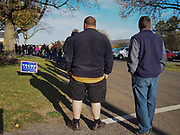 Voters in Pennsylvania's Mifflin County experienced two hour or more waits at the Union Precinct Polling Staion.