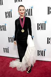 Nov. 13, 2018 - Nashville, Tennessee; USA - LAURA VELTZ attends the 66th Annual BMI Country Awards at BMI Building located in Nashville.   Copyright 2018 Jason Moore. (Credit Image: © Jason Moore/ZUMA Wire)