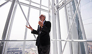Italian Architect Renzo Piano during the opening of Intesa Sanpaolo Bank skyscraper designed by him in Turin, Italy.<br /> <br /> © Giorgio Perottino