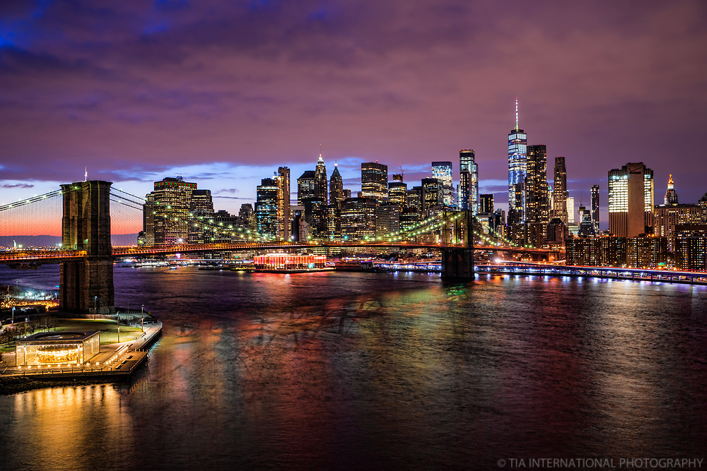 Brooklyn Bridge & Downtown NYC