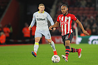 Football - 2018 / 2019 FA Cup - Third Round Replay: Southampton vs. Derby County<br /> <br /> Southampton's Tyreke Johnson in action during the FA Cup replay at St Mary's Stadium Southampton<br /> <br /> COLORSPORT/SHAUN BOGGUST