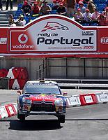 20090405: OURIQUE, ALGARVE, PORTUGAL - SEBASTIEN LOEB and  DANIEL ELANA (Citroen) win WCR Portugal Rally 2009. <br /> PHOTO: CITYFILES