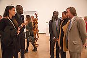 CHARLOTTE STOCKDALE; OSWALD BOATENG; DAVID ADJAYE; ASHLEY SHAW-SCOTT; MARC NEWSON, Gala Opening of RA Now. Royal Academy of Arts,  8 October 2012.
