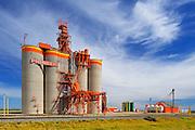Inland grain terminal <br /> Weyburn<br /> Saskatchewan<br /> Canada