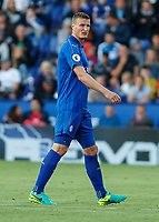 Football - 2016/2017 Premier League - Leicester Ciity V Arsenal. <br /> <br /> Robert Huth of Leicester City at The King Power Stadium.<br /> <br /> COLORSPORT/DANIEL BEARHAM