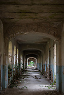 The Real School, built in the early 1900s and now abandoned, in Shushi, Nagorno-Karabakh. The region, known locally as Artsakh, is controlled by ethnic Armenians but claimed by Azerbaijan.<br /> <br /> (September 23, 2016)