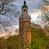This Greater Boston area sunset photography image shows the Isaac Sprague Memorial Tower at Elm Park, also known as Clocktower Park located within Wellesley Hills, MA. Wellesley is part of the Metro West region of Massachusetts and is only a few miles west of Boston. <br /> <br /> Photography images of Wellesley Hills are available as museum quality photography prints, canvas prints, acrylic prints or metal prints. Prints may be framed and matted to the individual liking and decorating needs: <br /> <br /> https://juergen-roth.pixels.com/featured/isaac-sprague-memorial-tower-in-wellesley-hills-juergen-roth.html<br /> <br /> Good light and happy photo making!<br /> <br /> My best,<br /> <br /> Juergen<br /> Photo Prints & Licensing: http://www.rothgalleries.com<br /> Photo Blog: http://whereintheworldisjuergen.blogspot.com<br /> Instagram: https://www.instagram.com/rothgalleries<br /> Twitter: https://twitter.com/naturefineart<br /> Facebook: https://www.facebook.com