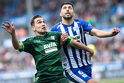 March 9, 2019 - Vitoria, Vitoria, Spain - Escalante Sociedad Deportiva Eibar,, midfield, and Maripan, Deportivo Alaves  defender, during the spanish championship,  La Liga BBVA, match played between Deportivo Alaves  and Sociead Deportiva Eibar, at Mendizorroza Stadium, in Vitoria, Spain. 09, March, 2019, during the spanish championship,  La Liga BBVA, match played between Deportivo Alaves  and Sociead Deportiva Eibar, at Mendizorroza Stadium, in Vitoria, Spain. 09, March, 2019 (Credit Image: © AFP7 via ZUMA Wire)