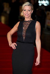 Denise Van Outen arrive for the Run For Your Wife - UK film premiere Odeon -Leicester Sq- London Brit comedy about a happily married man - with two wives, Tuesday  February 5, 2013. Photo: Andrew Parsons / i-Images