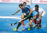 BHUBANESWAR -  Hockey World League finals , Semi Final . Argentina v India. Agustin Bugallo (Arg)   COPYRIGHT KOEN SUYK