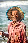 Portrait of a fisherman in Mirissa, Sri Lanka