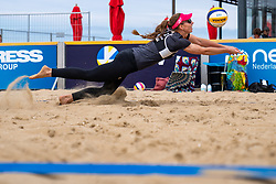 Katarzyna Kociolek (2) of Poland in action during CEV Continental Cup Final Day 1 - Women on June 23, 2021 in The Hague
