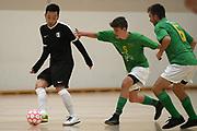 Capital player Shingo Ina in the Mens Futsal Superleague match, Central v Capital, Pettigrew Green Arena, Napier, Saturday, September 28, 2019. Copyright photo: Kerry Marshall / www.photosport.nz