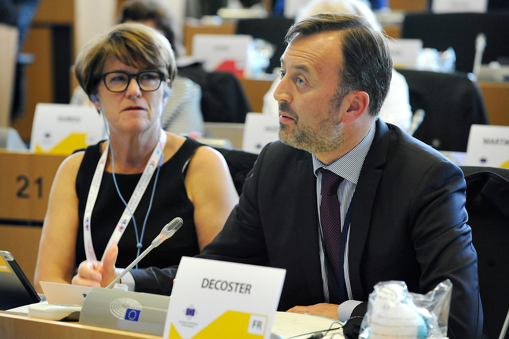 11 May 2017, 123rd Plenary Session of the European Committee of the Regions <br /> Belgium - Brussels - May 2017 <br /> DECOSTERFrançois© European Union / Fred Guerdin