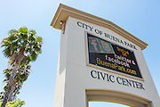 City of Buena Park Civic Center Signage
