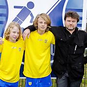 NLD/Blaricum/20120314 - Perspresentatie Koen Kampioen met als gastrol Luca Borsato, Sil Andae, Luca Borsato, Dieter Jansen