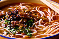 Guilin mifen is a traditional rice noodles dish that makes for a delicious breakfast or early lunch.