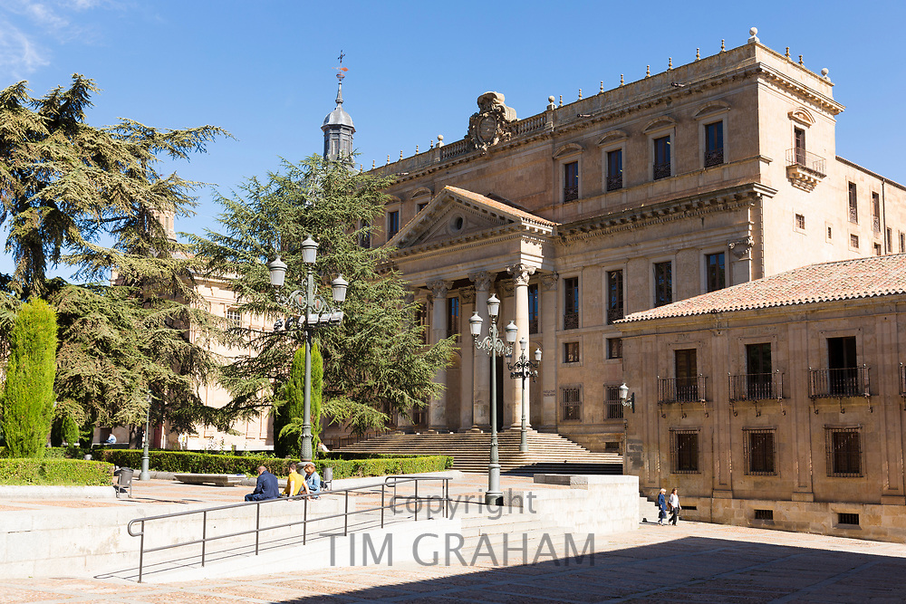 University of Salamanca, Faculty of Philology - Languages in Plaza de Anaya, Spain