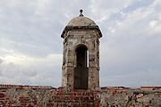 Cartagena, Colombia. The San Felipe Barajas Castle (Castillo de San Felipe de Barajas) from 1657