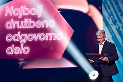 Drago Cotar president of NK Maribor during SPINS XI Nogometna Gala 2019 event when presented best football players of Prva liga Telekom Slovenije in season 2018/19, on May 19, 2019 in Slovene National Theatre Opera and Ballet Ljubljana, Slovenia. Photo by Grega Valancic / Sportida.com