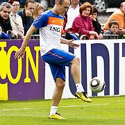 AUS/Seefeld/20100530 - Training NL Elftal WK 2010, Arjen Robben traint apart