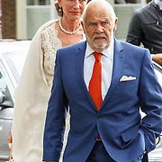 NLD/Amsterdam/20150620 - Huwelijk Kimberly Klaver en Bas Schothorst, familie en vrienden