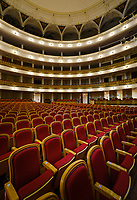 HAVANA, CUBA - CIRCA JANUARY 2020: Inerior of the National Theatre in Havana