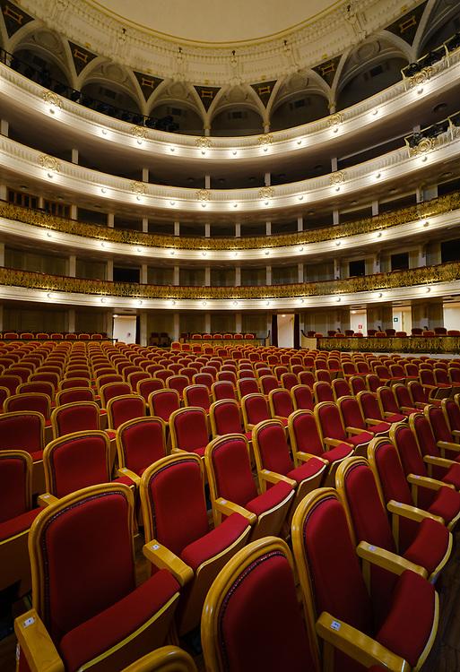 HAVANA, CUBA - CIRCA JANUARY 2020: Inerior of the National Theatre in Havana