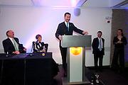 NICK KENYON; DEBORAH BORDA; JEREMY MAYHEW; JEREMY HUNT;  LA Philharmonic reception, Fountain room, Barbican. 27 January 2011 -DO NOT ARCHIVE-© Copyright Photograph by Dafydd Jones. 248 Clapham Rd. London SW9 0PZ. Tel 0207 820 0771. www.dafjones.com.